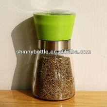 easy hold portable spice grinder, salt mill