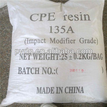 CPE resin pvc impact modifier cpe135a chlorinated polyethylene