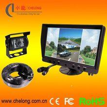 9 inç standı- başına lcd monitör 4 kamera araba koltuğu tv