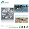Solar powered exhaust fan with 250w solar panel solar auto ventilator
