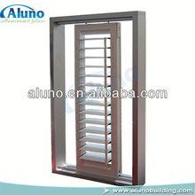 Tilt Bar Aluminum Sliding Window Shutters