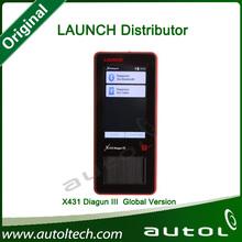 [Authorized Distributor ]2014 Original Launch X431 Diagun III auto diagnostic scanner