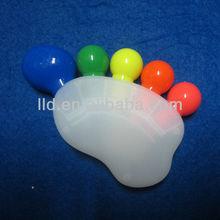 604285 Advertising Plastic Feet Shape Fluorescent Pen