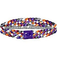 Fashion non slip silicone gel hair band with custom logo