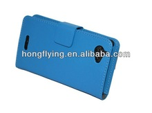 2014 best selling blank leather case for Sony Xperia LS36h