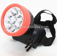 plastic high light long distance headlamp rechargeable,good quality camping led headlamp,energy saver led flashlight headlamp
