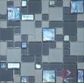 2014 de cristal de jade de hielo del azulejo del mosaico cuarto de baño axkk148 antecedentes
