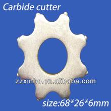 TC Standard Scarifier Cutter 8tips TCT Concrete Scarifier carbide cutter, Machines - Buy Carbide ,Asphalt Milling Cutters