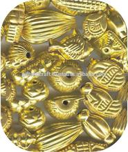metal angel wing beads