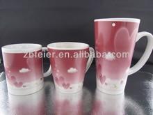 ceramic mug with love design
