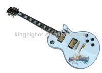 Glisten Electric Guitar white china cheapest hot rock pattern