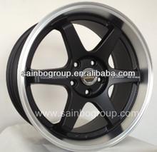 Reasonable price Wholesale Aluminum Alloy Wheel/Car Rims TE37 with logo