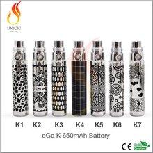 1100mAh ego k battery cig electronic