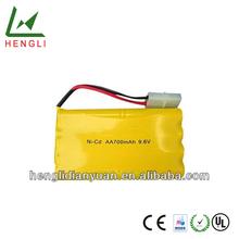 High Capacity Battery Ni-cd Aa 700mah 9.6v