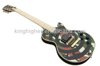 Glisten Electric Guitar cheapest Camouflage circle OEM high quality