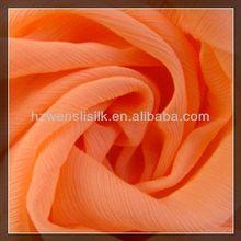 natural silk fabric crinkle georgette 8 mm