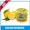 natural fruit scents small size air freshener spray own with logo