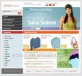 Sito web design, il lavoro di inserimento dati da casa, sito di shopping