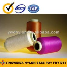nylon 6 ribbon yarn POY FDY DTY