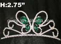 butterfly crystal tiara crown