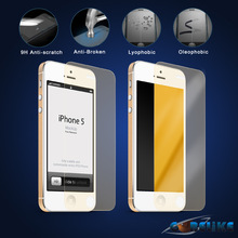 Cheap manufacturer price for gold mirror screen protectors from China