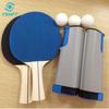 2014 popular plastic portable table tennis net