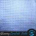Soft confortável 100% algodão tecido favo de mel