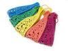 Colorful plastic decoration headband