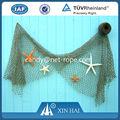 Nylon& poliéster rede de pesca para a decoração( quente) de nylon rede de pesca