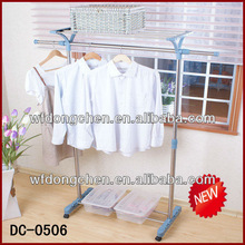 China manufacturer of Dongchen DC-0506 clothes dryer indoor hanger rack with shelf