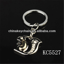Cute Metal Animal Keychain Squirrel