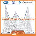 Nylon& poliéster rede de pesca para a decoração( quente) usado em redes de pesca comercial