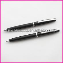 Black japan barrel and bright chrome parts pen