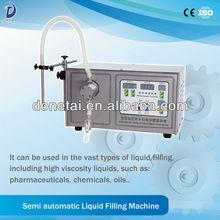 Dongtai Small Volume Liquid Cigarette Filler/Semi-auto Small Volume Magnetic Pump Liquid Filling Machine