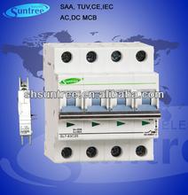 TUV 4P L7 Miniature circuit Breaker AC 415V DC 1200V