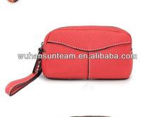 women new model wallet wallets ladies 2014 orange color wallet
