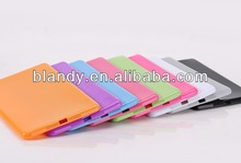 New solid color candy TPU soft Case for ipad mini
