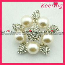 wedding brooch earring set decoration WBR-1186