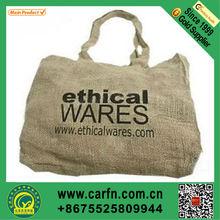 Custom jute mesh bag for shopping