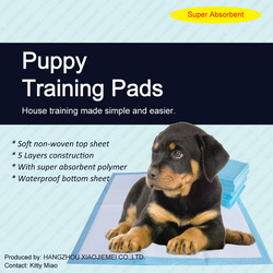 23 x 36 Puppy Pet Pads Dog Wee PEE Pad Pads underpads Training Dog Bed