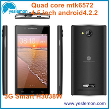 China Unlocked Android Cellphone 4.5 inch Quad Band Android Mobile Phone Dual Sim Dual Core Smartphone