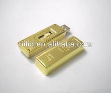 Gold Bar metal USB flash disk