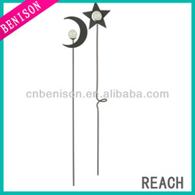 Beautiful Glowing Moon Garden Stick Ornament for Night Decoration