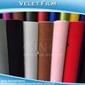 Extensible amovible. touch. 1.35x15m film adhésif velours auto