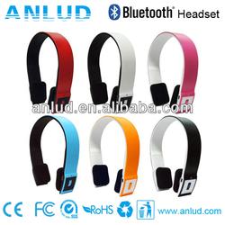 Colorful cheap Wireless ALD02 wireless stereo bluetooth headset/headphone