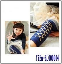 2013 nuevo diseño del cordón del bebé de las polainas del bebé del niño de las polainas