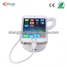 acrylic cell phone charger with alarm smart phone holder