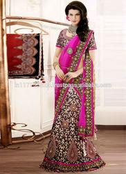 Indian bridal wedding saree