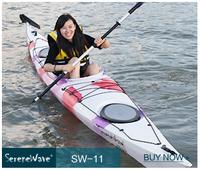 Wholesale sea pedal power fishing boats fiber