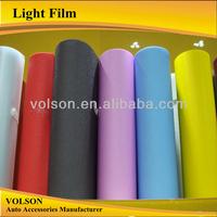 hot sell top stretch 0.3*10m transparent car headlight protection vinyl film lamp film